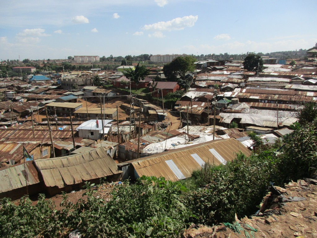 Kibera Ueberblick
